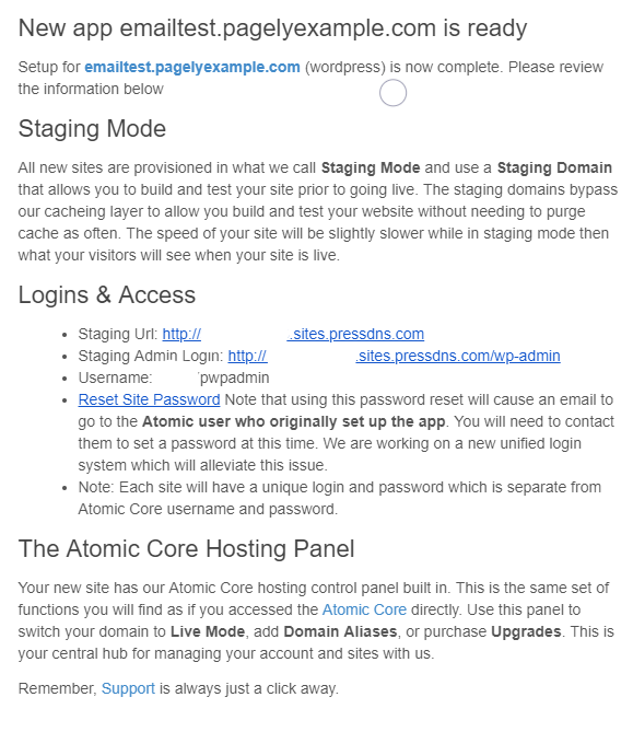 How to add a site on Atomic – [Pagely® Support]